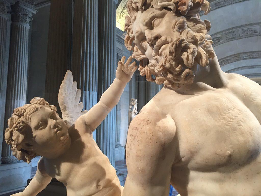escultura eros y centauro