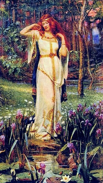 Freya y el Collar mitología nórdica