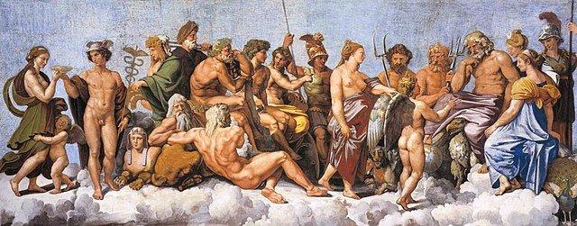 asamblea doce dioses olímpicos