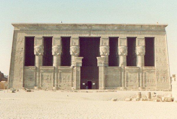 templo de Hathor diosa egipcia mitología egipcia