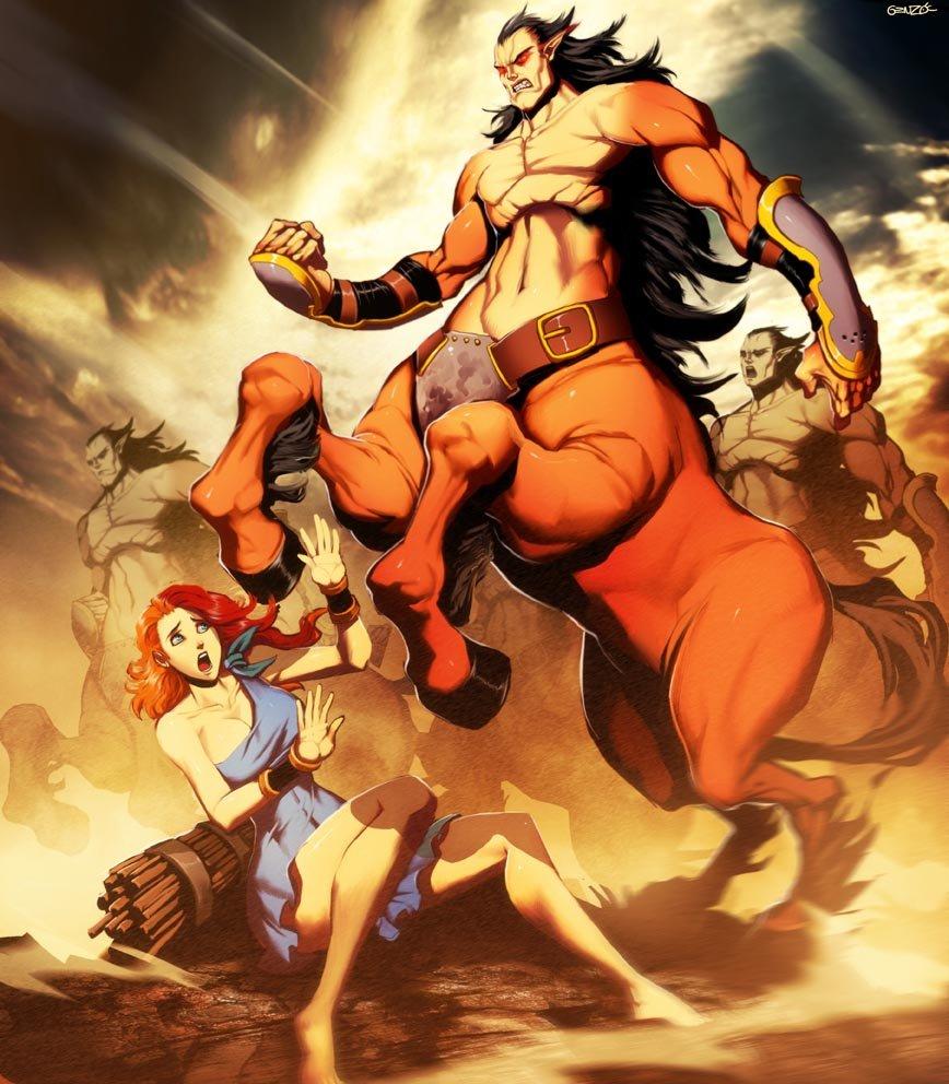 Centauros mitología griega por GENZOMAN