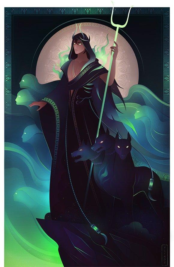 Hades dios del Inframundo mitología griega