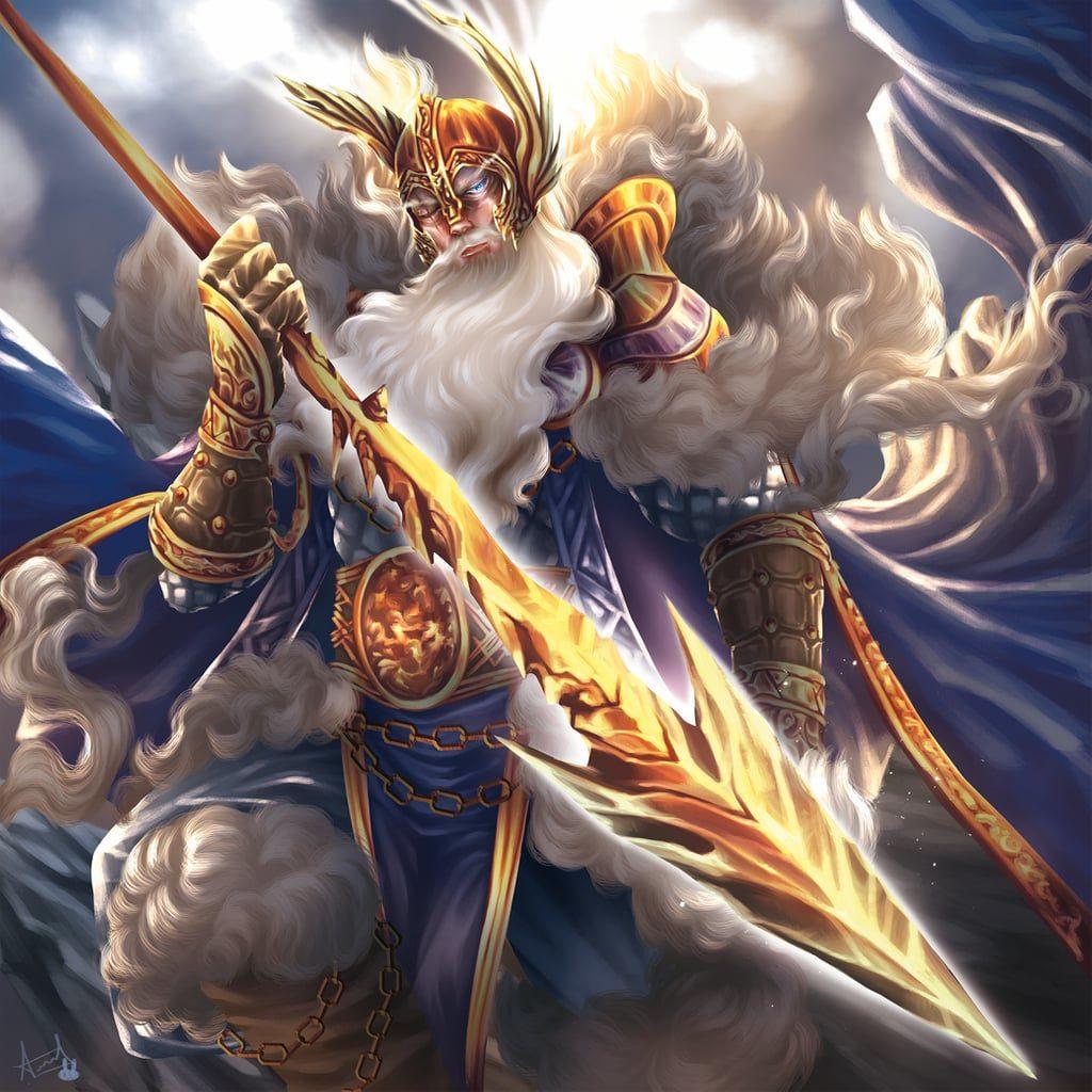 Odín dios de la mitología nórdica