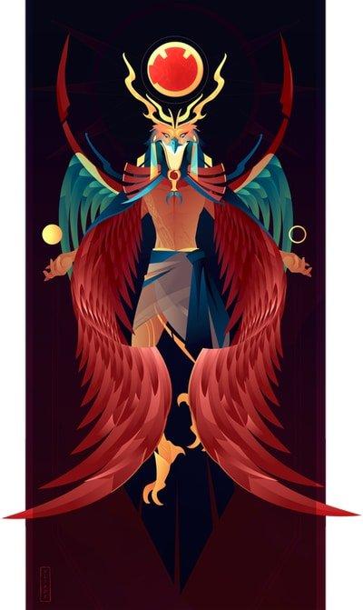 Ra dios solar de la mitología egipcia