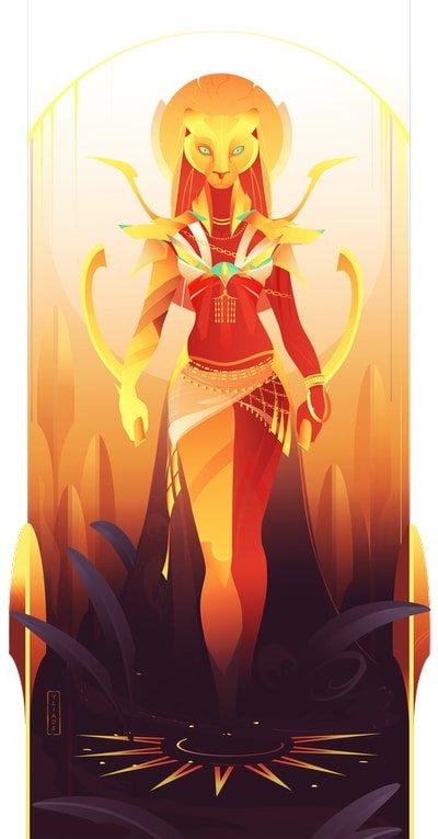 Sejmet diosa mitología egipcia