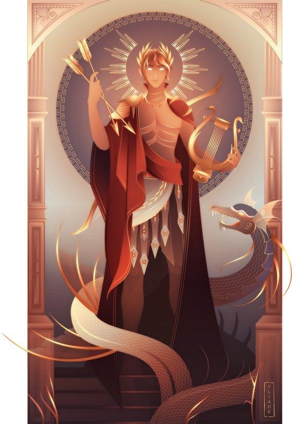 Apolo dios griego mitología griega