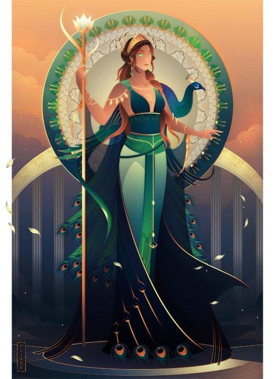 Hera diosa de la mitología griega