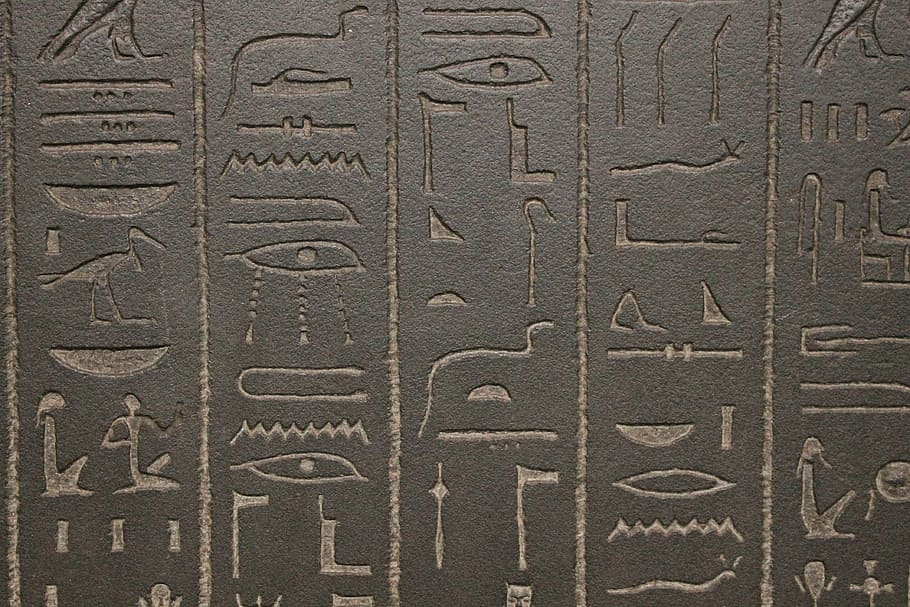 jeroglíficos egipcios mitología egipcia
