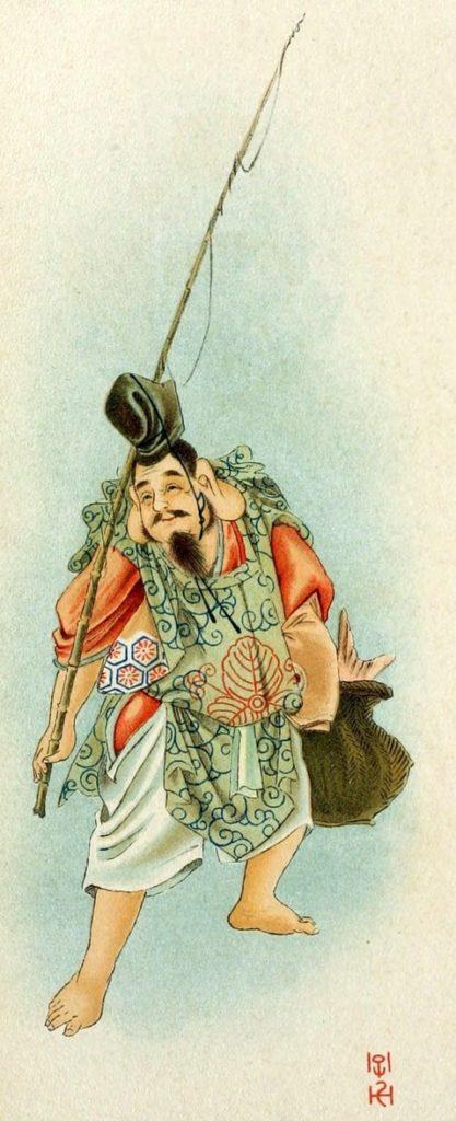 Ebisu mitología japonesa
