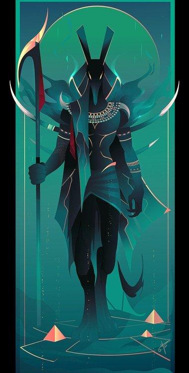 Seth dios egipcio de la guerra
