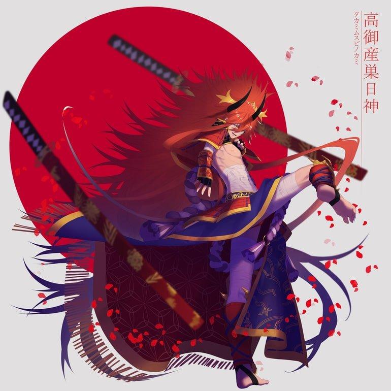 Takamimusubi dios creador japonés mitología japonesa