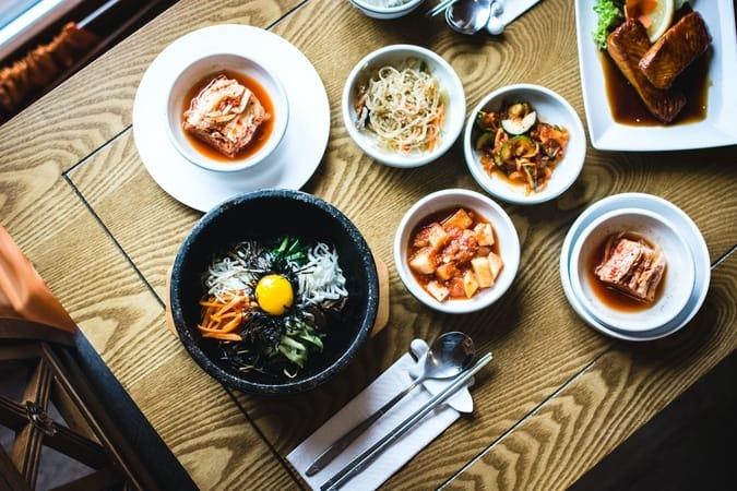 Comida tradicional asiática. Mito japonés del origen de la comida